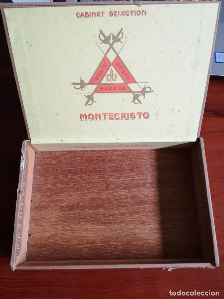 Cajas de Puros: CAJA DE PUROS MONTECRISTO N 5 CABINET SELECTION - Foto 2 - 177233624