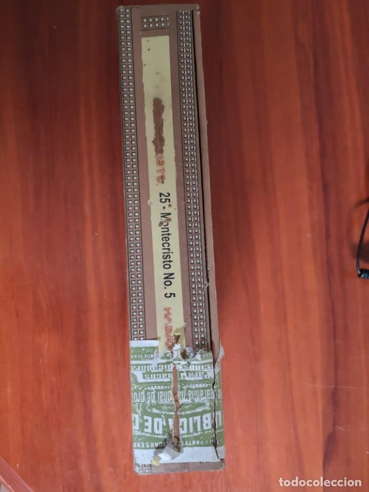 Cajas de Puros: CAJA DE PUROS MONTECRISTO N 5 CABINET SELECTION - Foto 3 - 177233624