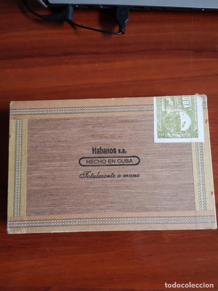 Cajas de Puros: CAJA DE PUROS MONTECRISTO N 5 CABINET SELECTION - Foto 4 - 177233624