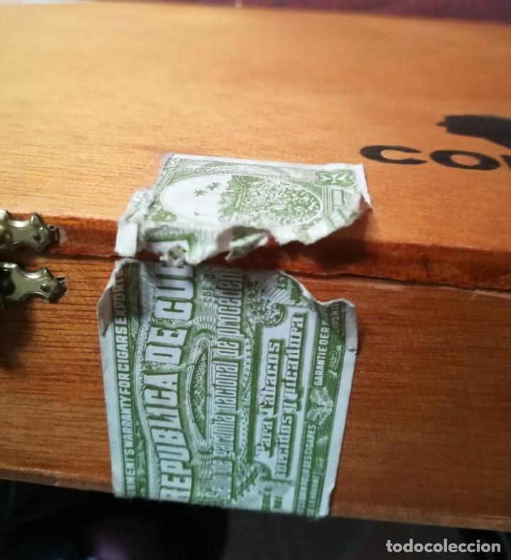 Cajas de Puros: Lote puros Cohiba Cuba,3 robustos+3 esplendidos+5 te amo n.7 México+ caja vacía de espledidos - Foto 3 - 171147007