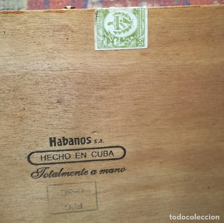 Cajas de Puros: Lote puros Cohiba Cuba,3 robustos+3 esplendidos+5 te amo n.7 México+ caja vacía de espledidos - Foto 4 - 171147007