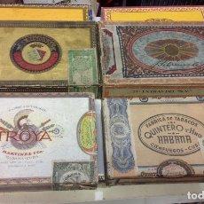 Cajas de Puros: LOTE DE 8 CAJAS VACIAS DE PUROS DE CUBA. Lote 177834262