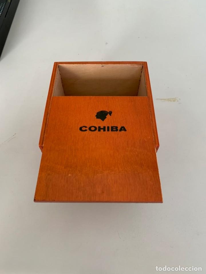 Cajas de Puros: Caja vacia de puros Cohiba Robustos - Foto 2 - 177851660