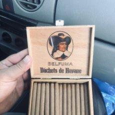 Cajas de Puros: CAJA DE PUROS BELFUMA DECHETS HAVANNA AÑOS 60. Lote 177885527