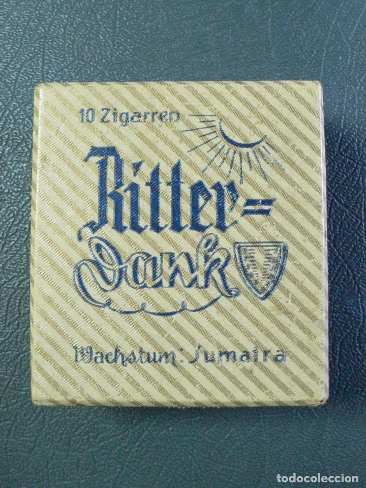 ANTIGUA CAJA PUROS RITTER DANK MACHSTUM: SUMATRA (Coleccionismo - Objetos para Fumar - Cajas de Puros)