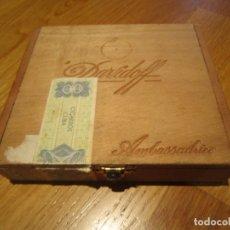Cajas de Puros: CAJA DE PUROS DAVIDOFF AMBASSADRICE. Lote 178338847
