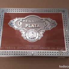 Cajas de Puros: BONITA CAJA DE PUROS. PEÑAMIL PLATA Nº 1, FABRICA DE TABACOS. AA. Lote 178598937