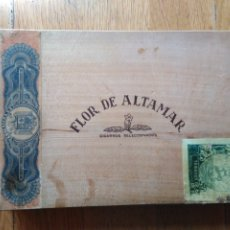 Cajas de Puros: CAJA PUROS FLOR DE ALTAMAR. Lote 178736290