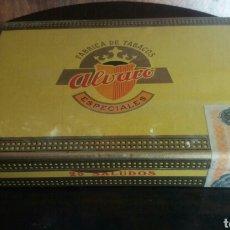 Cajas de Puros: CAJA SIN DESPRECINTAR DE PUROS ÁLVARO. Lote 178774283