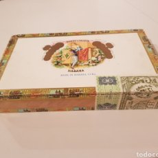 Cajas de Puros: CAJA DE PUROS DE LA HABANA,CUBA( VACIA) ROMEO Y JULIETA.(24'5×14'5CTM).SALIDA 1€!!!. Lote 178893820