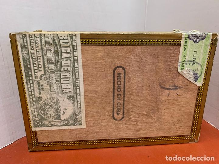 Cajas de Puros: CAJA DE PUROS HABANOS - VACIA - MONTECRISTO. Mide aprox 22x14x3,5cms - Foto 2 - 179022773