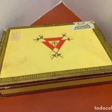 Cajas de Puros: CAJA DE PUROS HABANOS - VACIA - MONTECRISTO N.3. MIDE APROX 22,5X15,5X4CMS. Lote 179023181