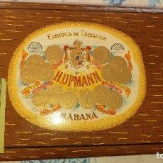 Cajas de Puros: FABRICA DE TABACOS H UPMANN.HABANA.. Lote 179067718