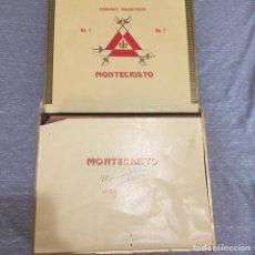 Cajas de Puros: CAJA CON 23 PUROS MONTECRISTO N1. CUBA . HABANA.. Lote 179075422