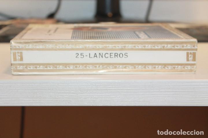 Cajas de Puros: CAJA DE PUROS COHIBA LANCEROS AÑOS 80, CONTIENE CINCO UNIDADES, UNA DE ELLAS ESTROPEADA - Foto 9 - 179111050