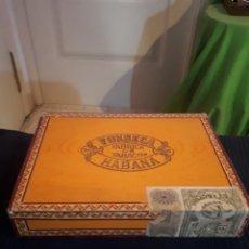 Cajas de Puros: CAJA VACÍA PUROS FONSECA LA HABANA. Lote 179141523