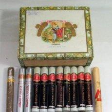 Cajas de Puros: LOTE DE 26 PUROS CUBA HABANA: FLOR DE CANO, UPMANN, MONTECRISTO, TROYA, COHIBA, CIFUENTES PARTAGAS,.. Lote 179230333