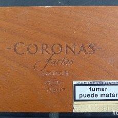 Cajas de Puros: CAJA DE MADERA CORONAS FARIAS 25 TUBOS . Lote 179249456