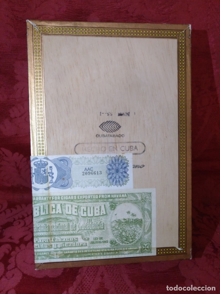 Cajas de Puros: CAJA DE PUROS VACÍA MONTECRISTO - Foto 3 - 179559215