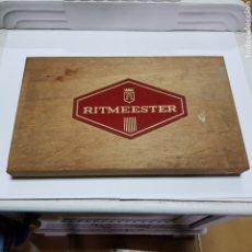 Cajas de Puros: ANTIGUA CAJA DE PUROS RITMEESTER. Lote 179957146