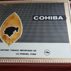 Cajas de Puros: CAJA DE PUROS COHIBA CORONAS ESPECIALES CUBATABACO. Lote 180106028