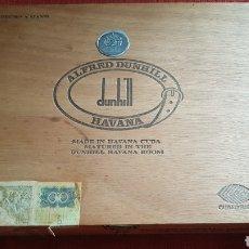 Cajas de Puros: CAJA DE PUROS DUNHILL ESTUPENDOS HABANA CUBA. Lote 180106477