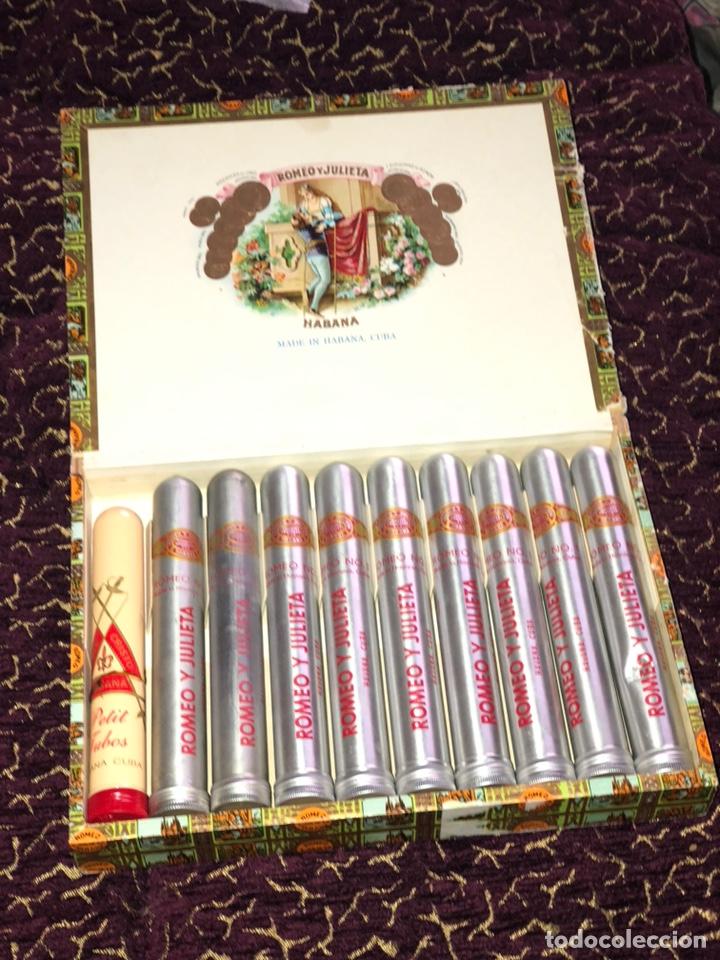 ROMEO Y JULIETA CAJA DE PUROS / HABANA CUBA -9 ROMEO Nº 1- (GA) Y 1 MONTECRISTO (Coleccionismo - Objetos para Fumar - Cajas de Puros)