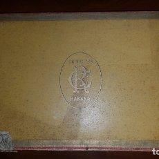 Cajas de Puros: ANTIGUA CAJA DE PUROS HABANOS CIFUENTES, (10 ALTEZAS REALES, VACÍA). Lote 180162767