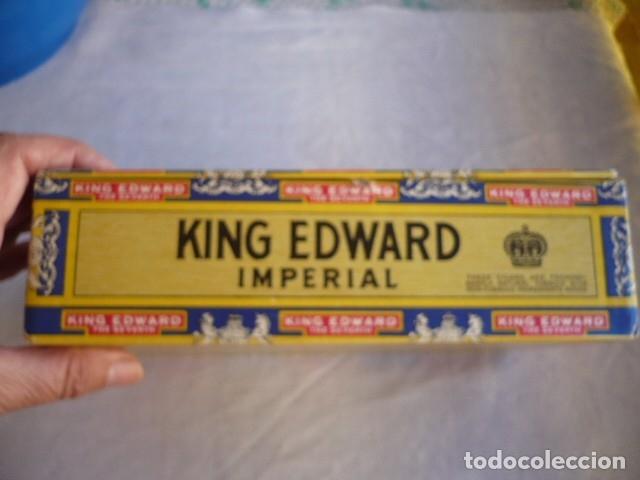 Cajas de Puros: CAJA DE PUROS VACIA KING EDWARS - Foto 4 - 180171156