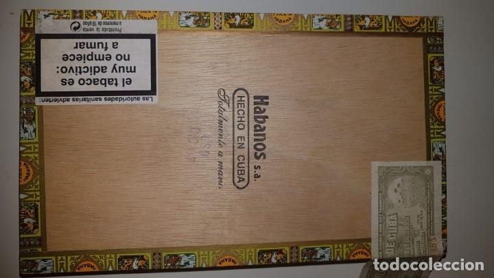 Cajas de Puros: Antigua caja de puros habanos Romeo y Julieta 25 Coronitas en cedro (14 habanos) año 2007. - Foto 3 - 180200282