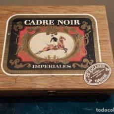 Cajas de Puros: CADRE NOIR - IMPERIALES - HAVANE - 25 CIGARES - CAJA PUROS HABANOS COMPLETA.. Lote 180274045