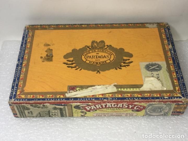 CAJA DE PUROS (Coleccionismo - Objetos para Fumar - Cajas de Puros)
