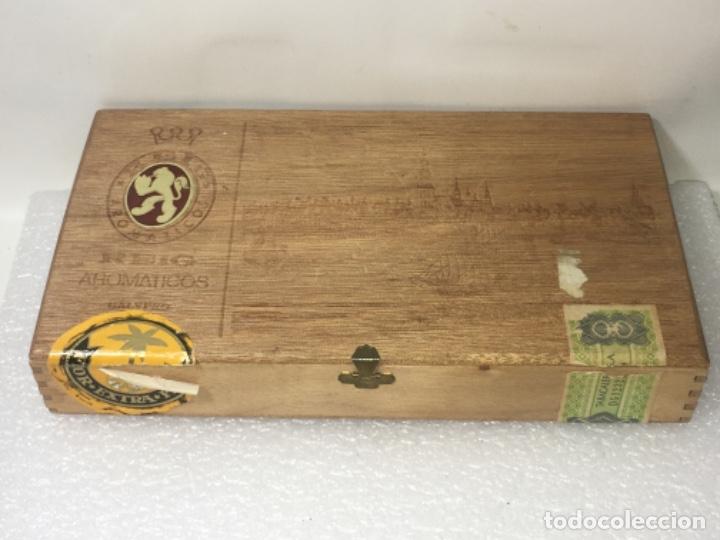 CAJA TABACO PUROS (Coleccionismo - Objetos para Fumar - Cajas de Puros)