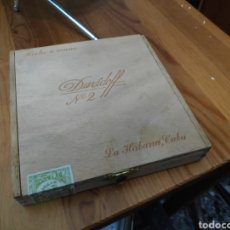 Cajas de Puros: ANTIGUA CAJA PUROS HABANOS DAVIDOFF. Lote 180450375