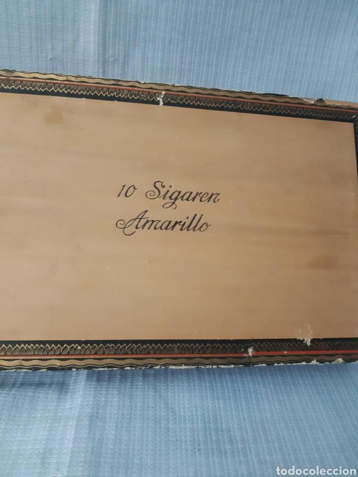 Cajas de Puros: CAJA DE HABANOS KAREL I CON 10 SIGAREN AMARILLO - Foto 6 - 180495055