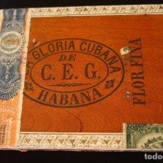 Cajas de Puros: LA GLORIA CUBANA-HABANA-ANTIGUA CAJA PUROS-VACIA. Lote 180499277