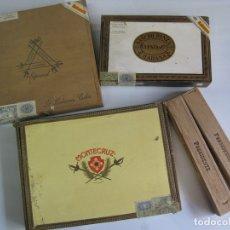 Cajas de Puros: LOTE CAJAS DE PUROS - HABANOS, CUBA - VER FOTOS. Lote 180850555