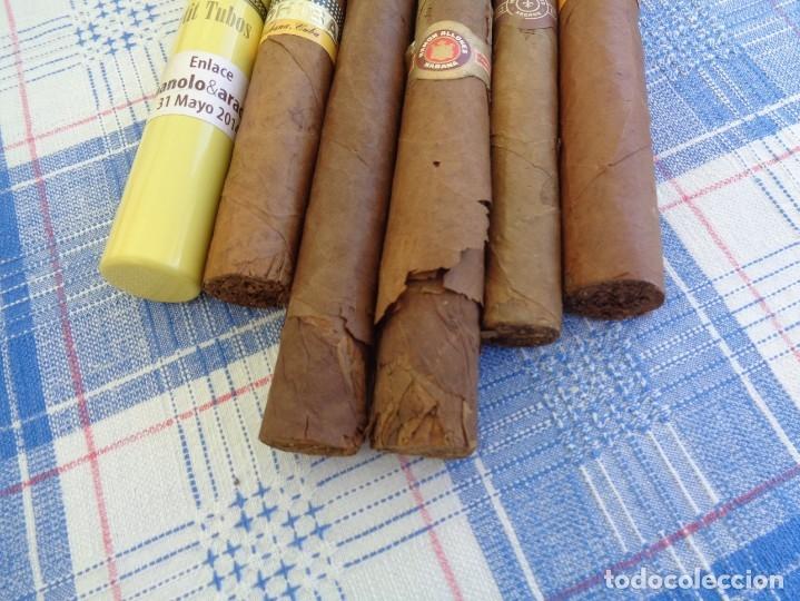 Cajas de Puros: LOTE DE 6 PUROS DE LA HABANA : CUBA ---- COHIBA - MONTECRISTO - RAMON ALLONES - Foto 3 - 180932741