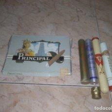 Cajas de Puros: LOTE PUROS PORTA PURO PARTAGAS HERRERA CORONA CLUB TROYA MONTECRISTO VER FOTOS CG. Lote 180938420
