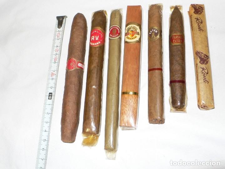 LOTE DE PUROS ANTIGUOS VARIOS (Coleccionismo - Objetos para Fumar - Cajas de Puros)