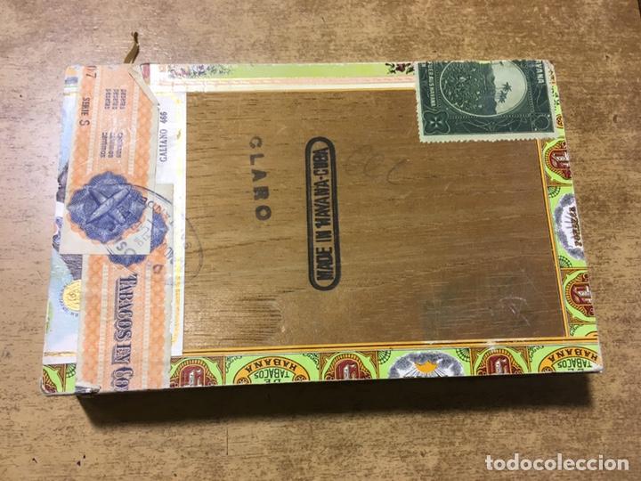 Cajas de Puros: CAJA PUROS FONSECA - 25 FORTUNAS - MADE IN HAVANA - CUBA - DEPOSITO SANTANDER - Foto 5 - 181123587