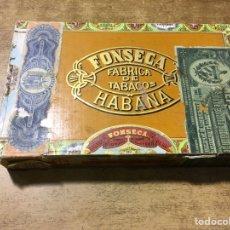 Cajas de Puros: CAJA PUROS FONSECA - 25 FORTUNAS - MADE IN HAVANA - CUBA - DEPOSITO SANTANDER. Lote 181123587