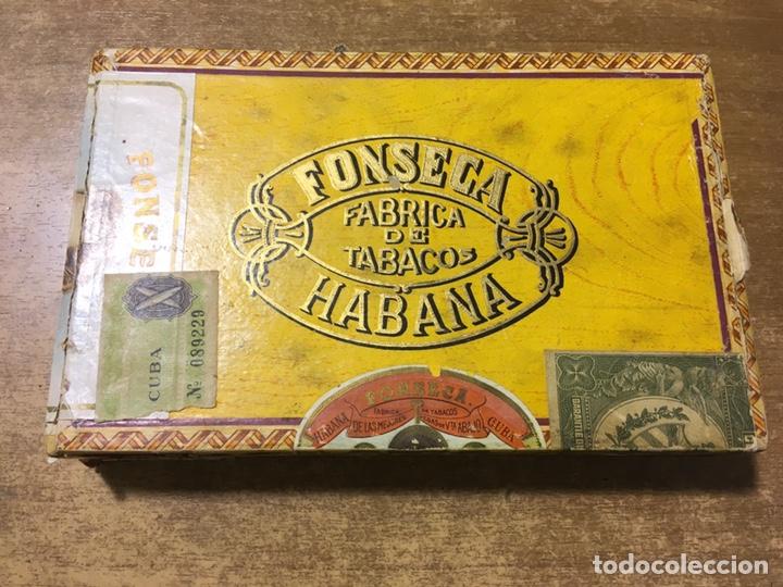 CAJA PUROS FONSECA - 25 DELICIAS - HABANA (Coleccionismo - Objetos para Fumar - Cajas de Puros)