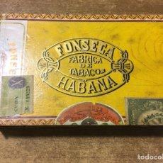 Cajas de Puros: CAJA PUROS FONSECA - 25 DELICIAS - HABANA. Lote 181129773