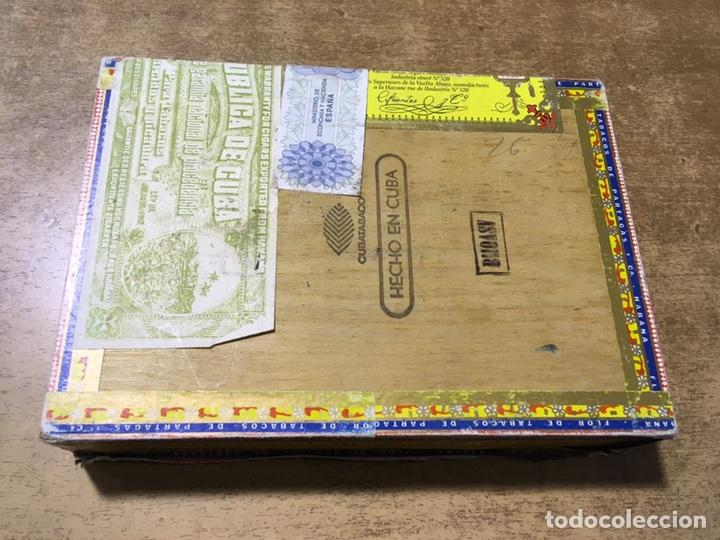 Cajas de Puros: CAJA FLOR DE TABACOS DE PARTAGAS - 25 HABANEROS - HABANA - PUROS - Foto 3 - 181132478