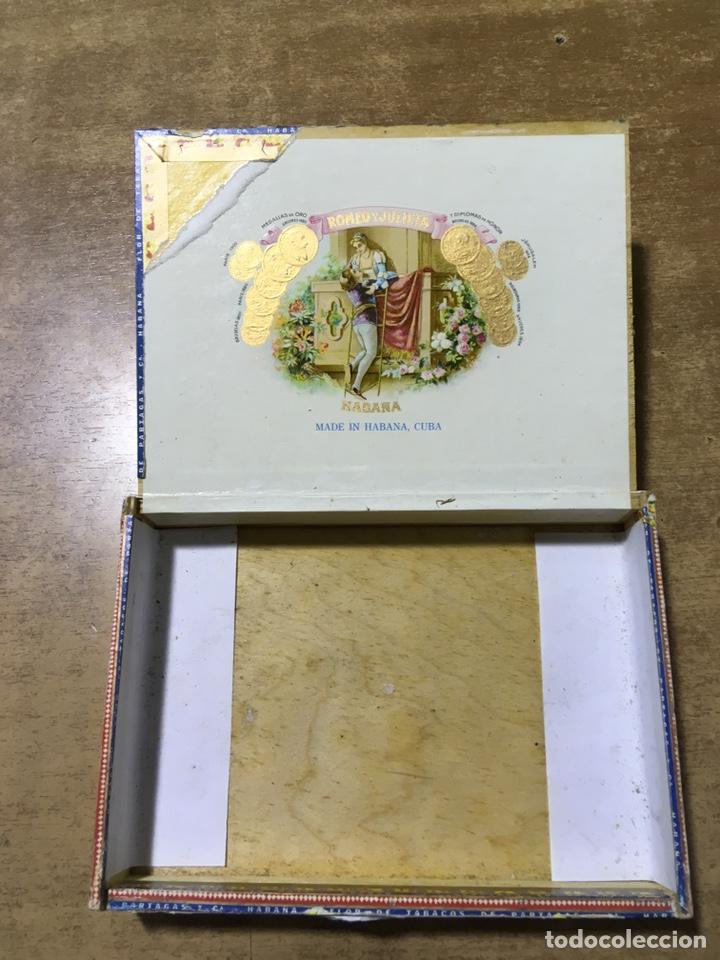 Cajas de Puros: CAJA FLOR DE TABACOS DE PARTAGAS - 25 HABANEROS - HABANA - PUROS - Foto 5 - 181132478