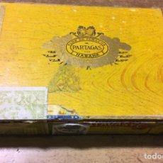 Cajas de Puros: CAJA FLOR DE TABACOS DE PARTAGAS - 25 HABANEROS - HABANA - PUROS. Lote 181132478
