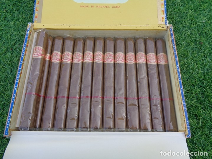 Cajas de Puros: Caja de puros Partagas 25 super partagas habana cuba con 13 puros - Foto 3 - 181189216