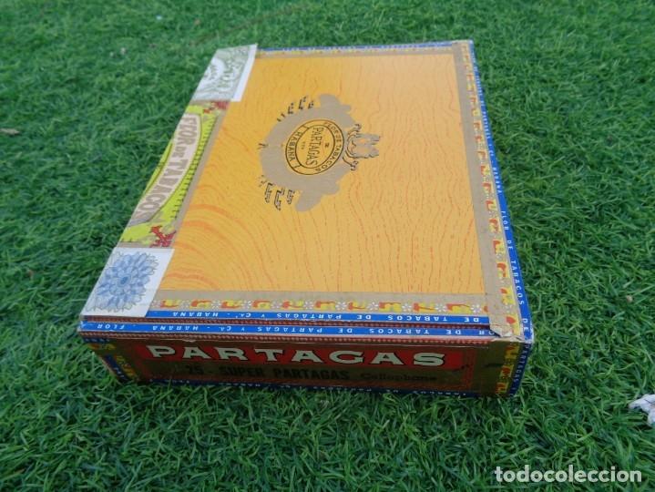 Cajas de Puros: Caja de puros Partagas 25 super partagas habana cuba con 13 puros - Foto 4 - 181189216
