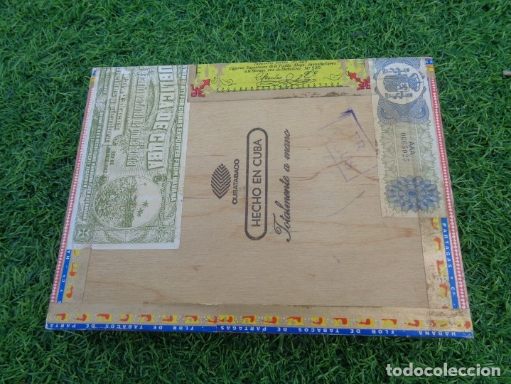 Cajas de Puros: Caja de puros Partagas 25 super partagas habana cuba con 13 puros - Foto 7 - 181189216